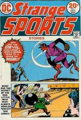 Strange Sports Stories (1973 series) #1 in Very Fine minus condition  comics