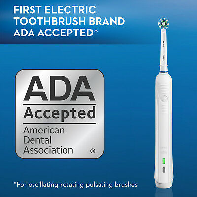 Oral-B Pro 1000 Electric Power Rechargeable Battery Toothbrush