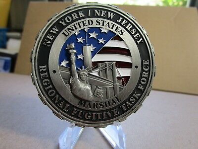US Marshal Regional Fugitive Task Force NY NJ  Belly of the Beast Challenge Coin