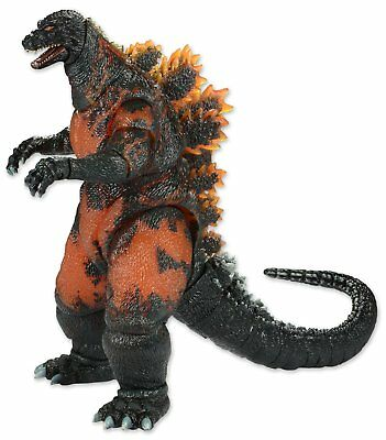 """NECA Classic 1995 Burning Fire Godzilla Head to Tail 6in. Action Figure 12"""" LONG"""