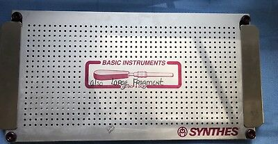 Synthes LC-DCP & DCP Basic Instrument Tray, Complete W/ Extras, Free Dom. Ship