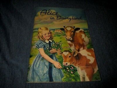 American Stores Co-Asco-Louella Butter-Alice In Dairyland-1936 Booklet