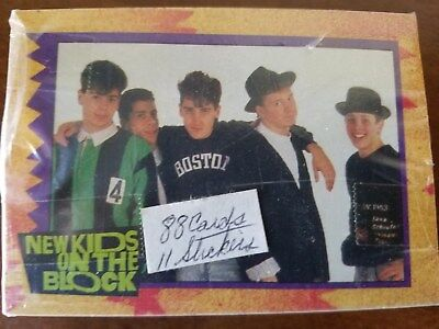 New Kids On The Block 1989 Topps  Complete 88 Card Set