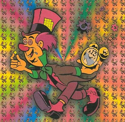 Psychedelic Mad Hatter - Blotter Art