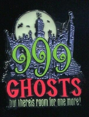Disney Haunted Mansion 999 Ghosts Glow in the Dark Moon Room for 1 More pin