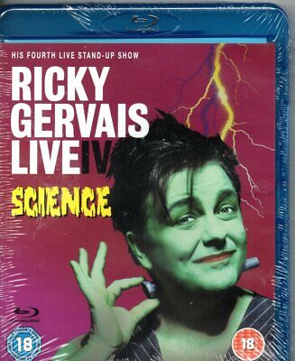 Ricky Gervais: Live IV - Science (Blu-ray) - Region B  -Brand New-Still Sealed