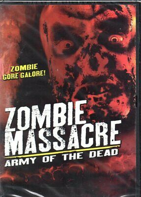 Zombie Massacre: Army of the Dead-DVD - Region 1 -Brand New-Still Sealed