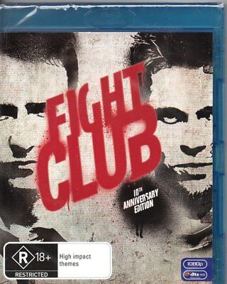 fight club blu ray  FIGHT CLUB (10TH Anniversary Edition)-Blu-Ray (Region B)-Brand New ...