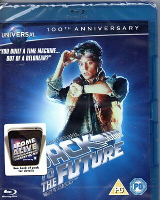 Back to the Future (Augmented Reality Edition) (Blu-ray)-Region B-Brand New-S...