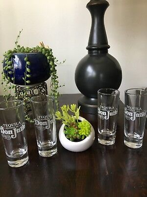 Reserva De Don Julio 4 Tequila Tall Shooter Shot Glass - Double Shot Collectable
