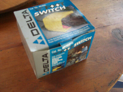 New In Box Delta Air-Activated Foot Switch Catalogue No. 40-050
