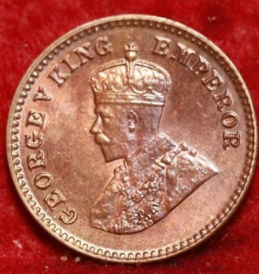 Uncirculated 1924 India 1/12 Anna  Foreign Coin