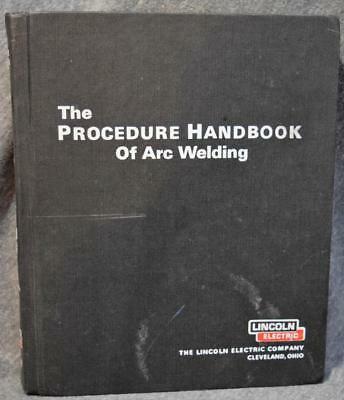 1973 12th Edition Procdure Handbook of Arc Welding Lincoln Electric Hardcover