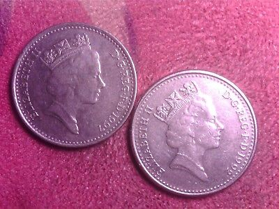 Great Britain   10  Pence  1992   1997   Free Shipping
