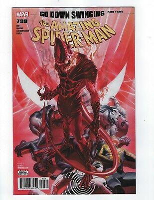 Amazing Spider-Man # 799 Alex Ross Cover NM