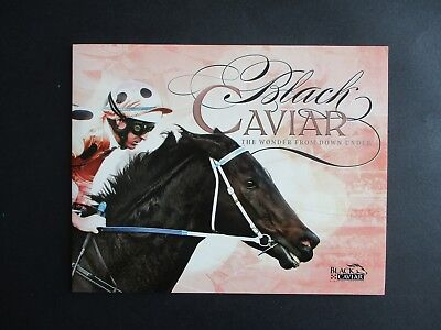 ESTATE SALE: 'Black Caviar' Stamp Collector's Book - FREE POST (2870)