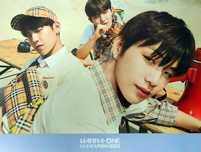 Wanna One - 1÷χ=1 UNDIVIDED [TriplePosition ver.] Official Poster with Tube Case