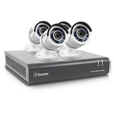 Swann 4CH 1TB 1080P DVR Outdoor CCTV Home Security Camera System Night Vision