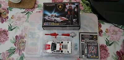Transformers Masterpiece MP-14 Red Alert boxed, 100% complete, Genuine, NOT A KO