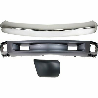 Bumper Kit For 2007-2008 Chevy Silverado 1500 Front Right New Body Style 3pc