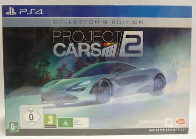 Project Cars 2 Collector's Edition - Ps4  - Nuovo - New Sealed Pal