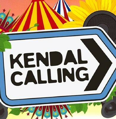 Kendal Calling 2018 - weekend Camping 2 X Adult Tickets Friday - Sunday