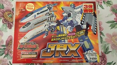 Transformers Car Robots/Robots in Disguise RID JRX/Rail Racer 100% complete