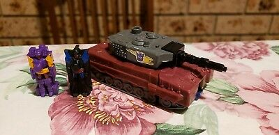 Transformers G1 Targetmaster Quake, 100% complete Tiptop, Heater,loose