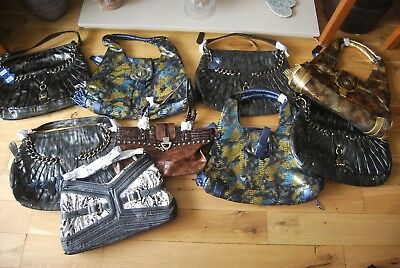 JOB LOT- 10 NEW Designer 'Krystal' Handbags Hand Bags - RRP £635! bankrupt stock