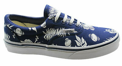 6adf77221b Vans Off The Wall MLX Tropicoco Blue Lace Up Mens Canvas Plimsolls W3CENA  D29