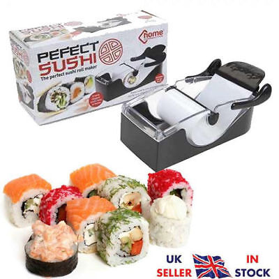 Perfect Roll Sushi Maker Easy Preparation Serving Roll Gadget Machine Kitchen UK