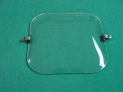 Radio Glass Dial Cover for 1940's GE, General Electric Model 802, AM-FM TV