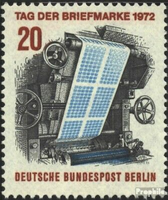 Berlin (West) 439 (kompl.Ausg.) FDC 1972 Tag d. Briefmarke