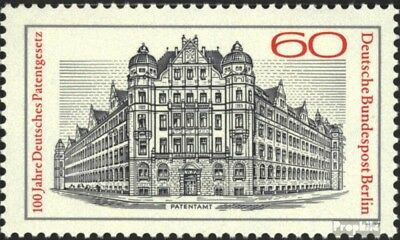 Berlin (West) 550 (kompl.Ausg.) FDC 1977 Patentgesetz