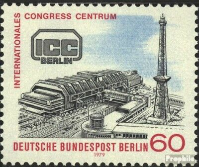 Berlin (West) 591 (kompl.Ausg.) FDC 1979 Congress-Centrum