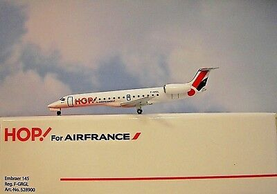 Herpa Wings 1:500  Embraer 145 HOP For AIRFRANCE F-GRGL  528900 Modellairport500