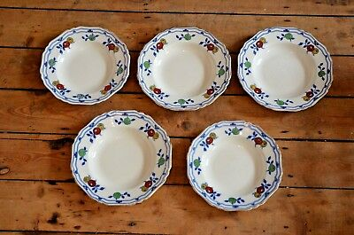 Hancock & Sons Corona Ware Madrid Bowls Set of 5