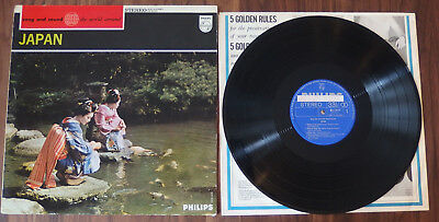 V. A. - Song And Sound From The World Around Japan Orig. Promo Record NM