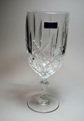 """New WATERFORD MARQUIS Crystal MARKHAM 8 1/2""""h 17oz Set of 4 Iced Tea Vine Glass"""
