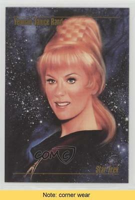 1993 SkyBox Master Series Star Trek #08 Yeoman Janice Rand READ Card 3c7