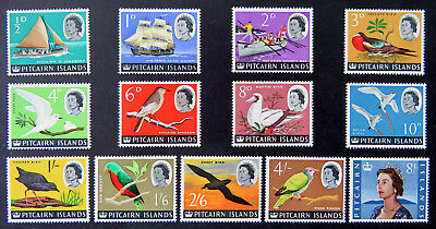 1964-65 Pitcairn Island Pre Decimal Stamps: Pitcairn Is Definitives - Set 13 LMH