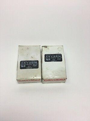 Crydom A4812 Lot Of Two(2) Solid-State Relay *** New In Box