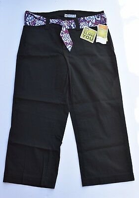 NWT Lee Instantly Slims You Tummy Control Capri Pants Size 6 Med $52 on Tag