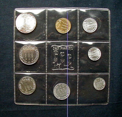 complete official set coins UNC Italy 1983 San Marino