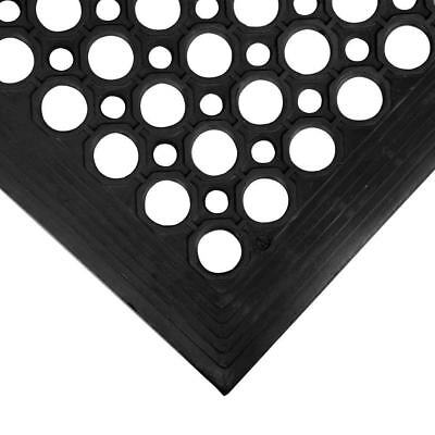 Large Anti Slip Rubber Mat Industrial Matting Safety With Holes Indoor Outdoor