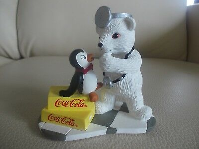 1996 Coca Cola POLAR BEARS CLUB Collection 'Friendship Is The Perfect Medicine'!