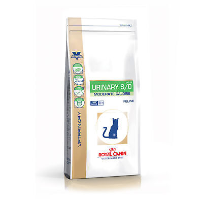 Croquettes Royal Canin Veterinary Diet Urinary S/O moderate calorie pour chats S