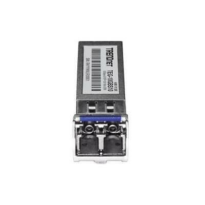 TRENDnet 10GBASE-LR SFP+ Single Mode LC Module 10 Km 6.2 Miles With DDM