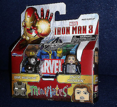 MARVEL MINIMATES SER 35 Iron Man Mark IV & Whiplash Mini