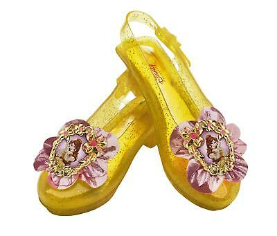Disguise Disney Princess Beauty and The Beast Belle Sparkle Shoes One Size Child